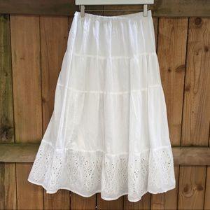 Dresses & Skirts - 🦋NEW!🦋 Great Northwest Indigo Tiered Maxi Skirt